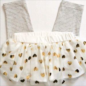 Carter's (18m) Girls Legging with Tulle Skirt,